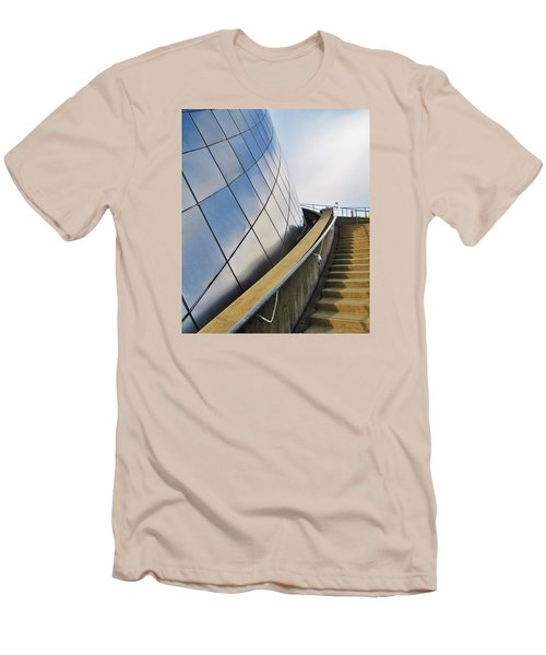 Staircase To Sky Men's T-Shirt (Slim Fit) by Martin Cline