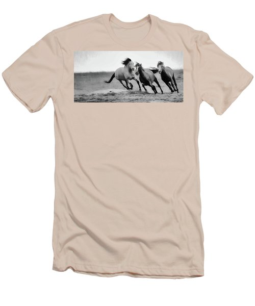 Stallion  Men's T-Shirt (Athletic Fit)
