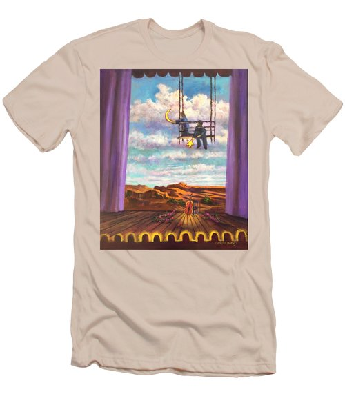 Starry Day Men's T-Shirt (Slim Fit) by Randy Burns