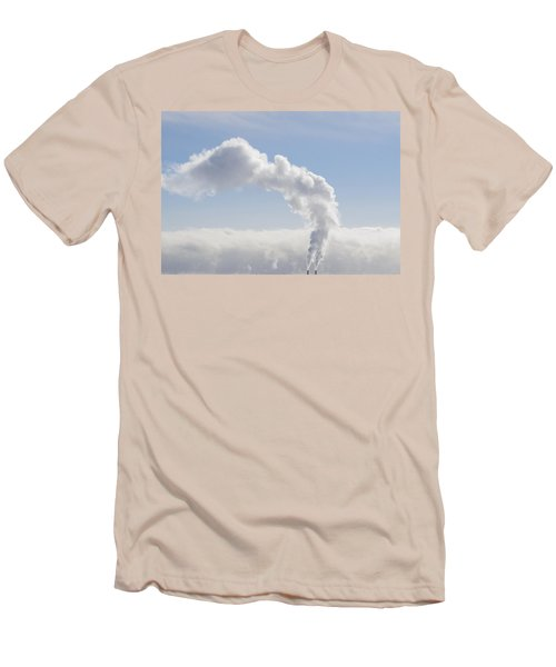 Steam Men's T-Shirt (Slim Fit) by Keith Armstrong