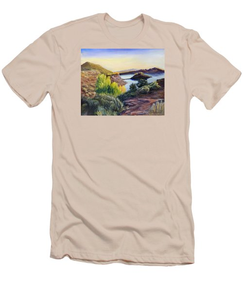 Steinaker Men's T-Shirt (Slim Fit) by Sherril Porter