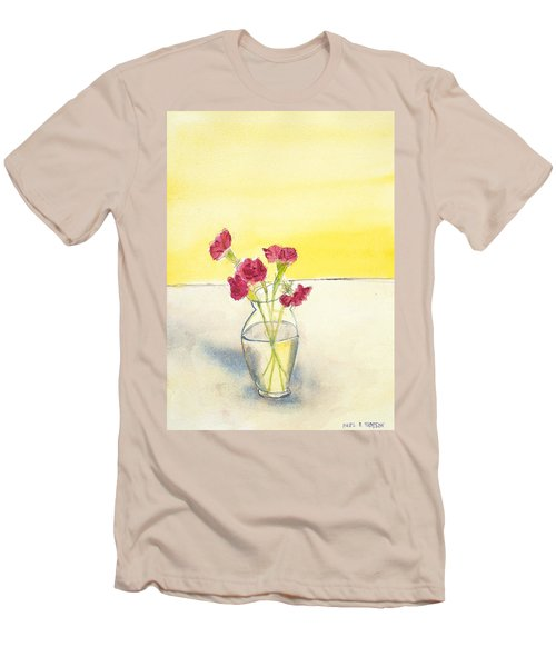 Still Life With Roses Men's T-Shirt (Athletic Fit)