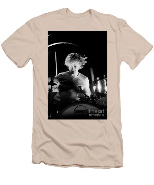 Stp-2000-eric-0922 Men's T-Shirt (Slim Fit) by Timothy Bischoff