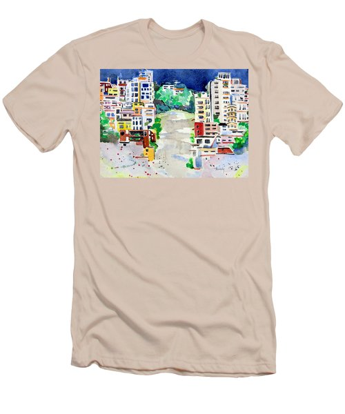 Streets Of San Francsico Men's T-Shirt (Athletic Fit)