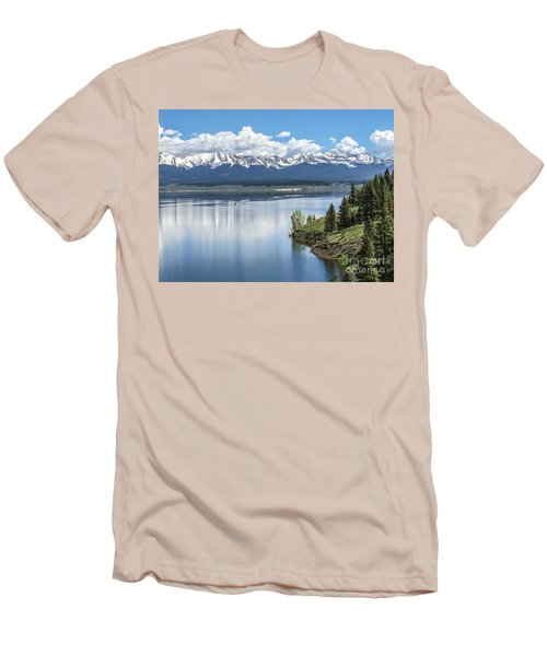 Stunning Colorado Men's T-Shirt (Slim Fit) by William Wyckoff