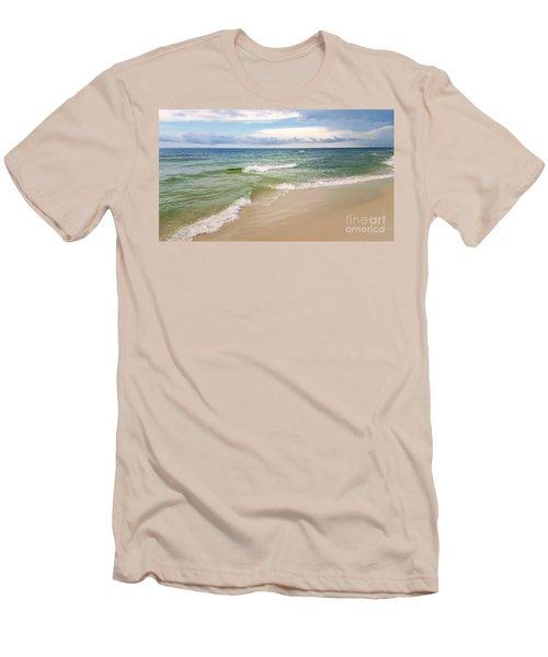 Sublime Seashore  Men's T-Shirt (Athletic Fit)