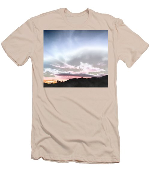 Submarine In The Sky Men's T-Shirt (Athletic Fit)