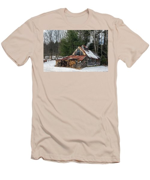Sugar King's Smokehouse Men's T-Shirt (Athletic Fit)