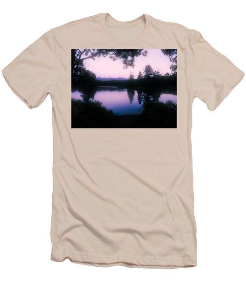 Summer Evening In New Hampshire Men's T-Shirt (Slim Fit) by Robin Regan
