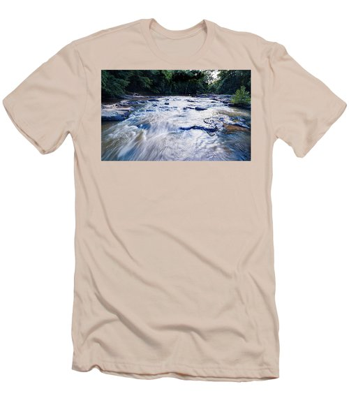 Summer River Men's T-Shirt (Athletic Fit)