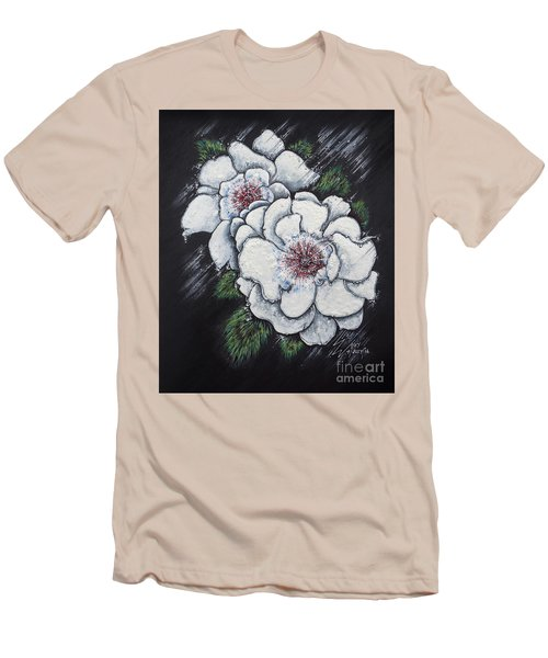Summer Roses Men's T-Shirt (Athletic Fit)