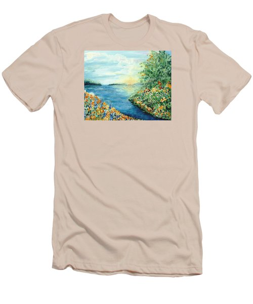 Sun And Moon Men's T-Shirt (Slim Fit) by Holly Carmichael
