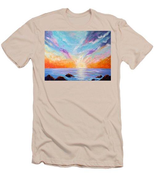 Sunburst Men's T-Shirt (Athletic Fit)