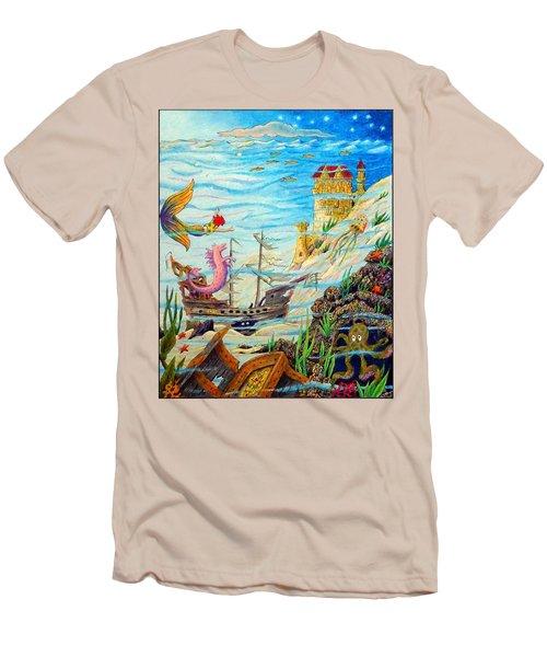 Sunken Ships Men's T-Shirt (Athletic Fit)