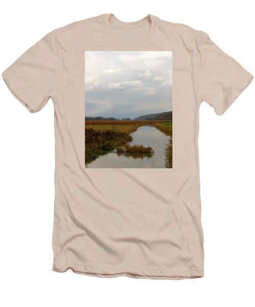 Sunless Rainbow Men's T-Shirt (Athletic Fit)