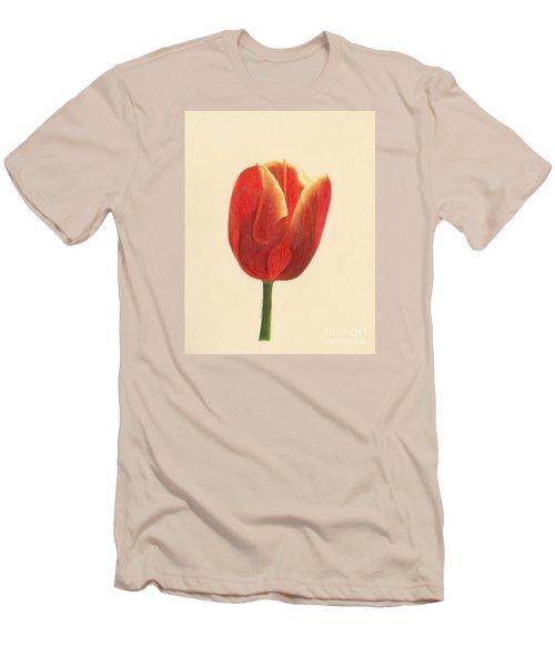 Sunlit Tulip Men's T-Shirt (Slim Fit) by Phyllis Howard