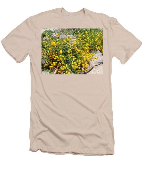 Sunny Garden Men's T-Shirt (Athletic Fit)