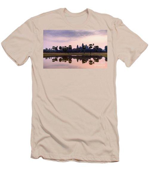 Sunrise At Angkor Wat Men's T-Shirt (Athletic Fit)