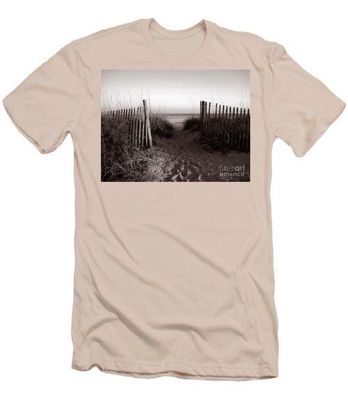 Sunrise At Myrtle Beach Sc Men's T-Shirt (Athletic Fit)