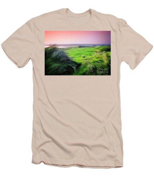 Sunset - Lahinch Men's T-Shirt (Athletic Fit)