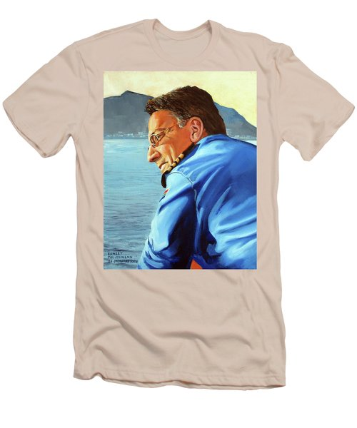 Sunset Men's T-Shirt (Slim Fit) by Tim Johnson