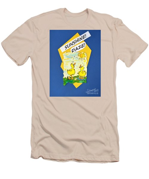 Sunshine Daze Men's T-Shirt (Athletic Fit)