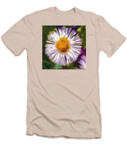 Men's T-Shirt (Slim Fit) featuring the photograph Supernove Daisy by Spyder Webb