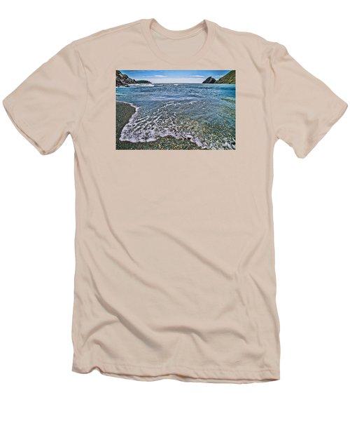 Surf #2959 Men's T-Shirt (Slim Fit) by Andrey  Godyaykin