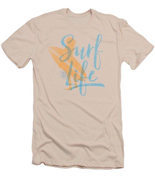 Surf Life 2 Men's T-Shirt (Athletic Fit)
