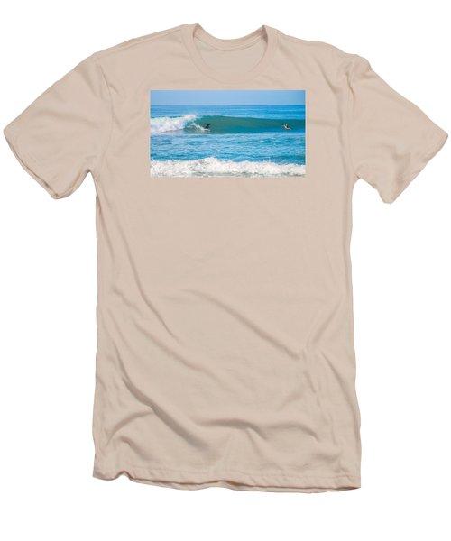 Surfing Men's T-Shirt (Slim Fit) by Dorothy Cunningham