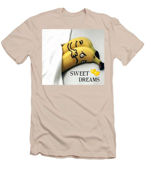 Sweet Dreams Men's T-Shirt (Slim Fit) by Sheila Mcdonald