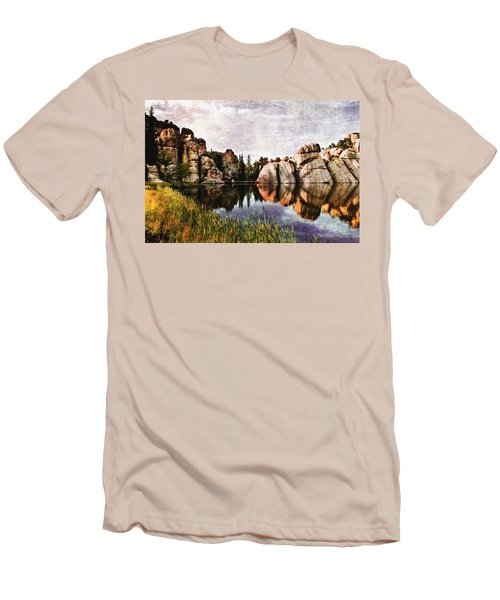 Sylvan Lake - Black Hills Men's T-Shirt (Athletic Fit)