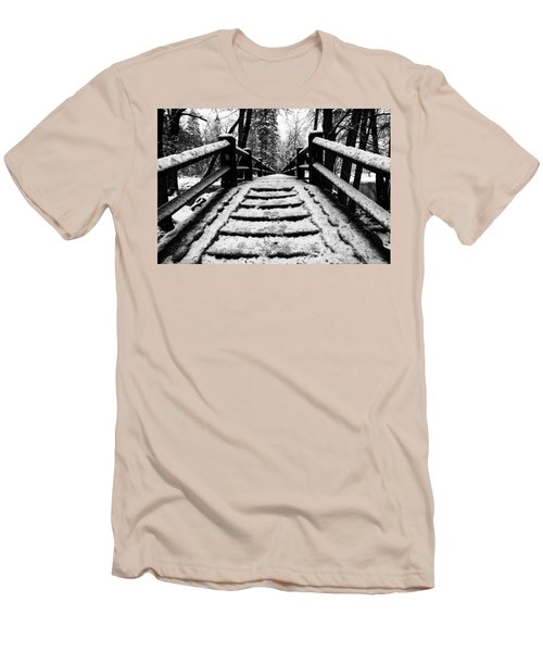 Men's T-Shirt (Athletic Fit) featuring the photograph Take A Walk With Me by Lora Lee Chapman