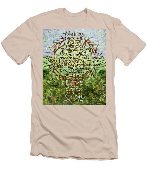 Take Lord, Receive Men's T-Shirt (Athletic Fit)