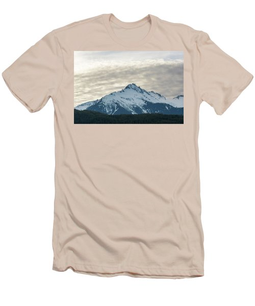 Tantalus Mountain Range Closeup Men's T-Shirt (Athletic Fit)