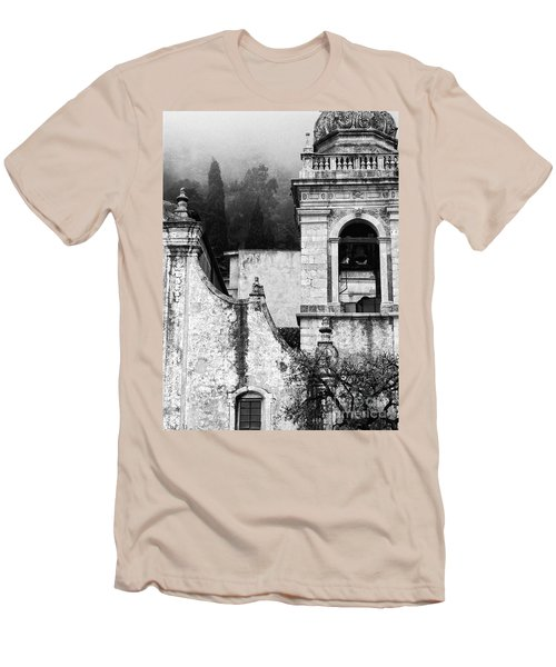 Taormina Church Detail Men's T-Shirt (Slim Fit) by Silvia Ganora