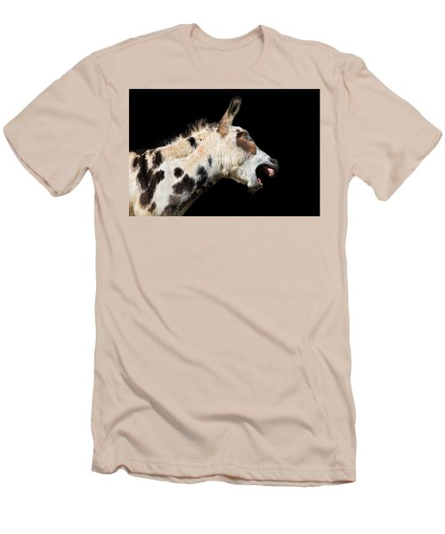 Men's T-Shirt (Slim Fit) featuring the photograph Tell It Like It Is by Sharon Jones