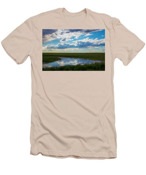 Terrace Pond Men's T-Shirt (Athletic Fit)