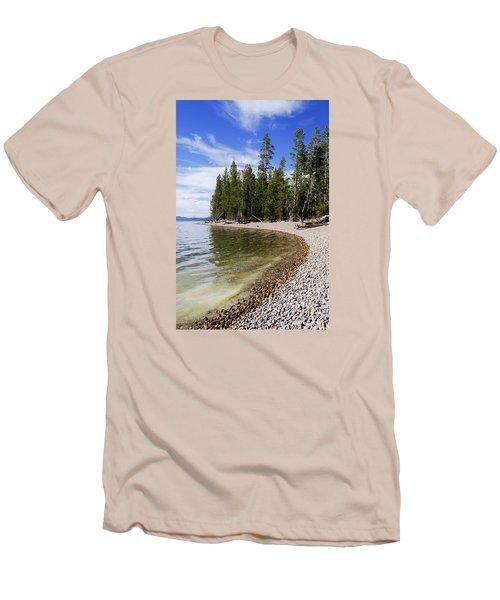 Teton Shore Men's T-Shirt (Slim Fit) by Chad Dutson