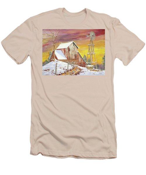Texas Coldfront Men's T-Shirt (Athletic Fit)