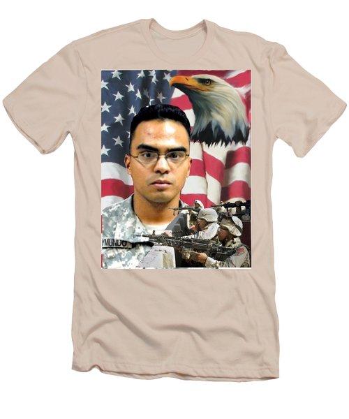 Texas Fallen Men's T-Shirt (Athletic Fit)