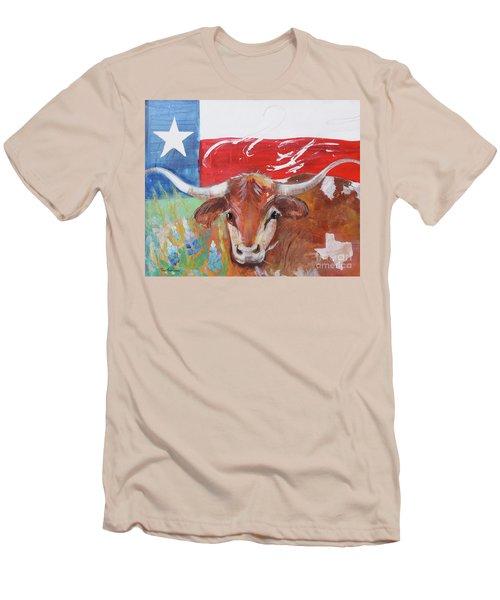 Texas Longhorn Men's T-Shirt (Athletic Fit)