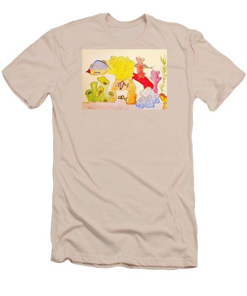 The Age Of Aquarium Men's T-Shirt (Slim Fit)