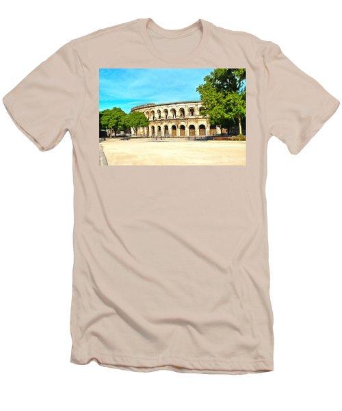 The Amphitheatre Nimes Men's T-Shirt (Athletic Fit)