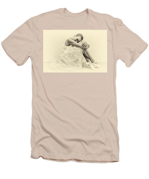 Le' Ballerina Men's T-Shirt (Slim Fit) by Swank Photography
