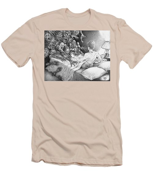 The Bedside Lamp Men's T-Shirt (Athletic Fit)