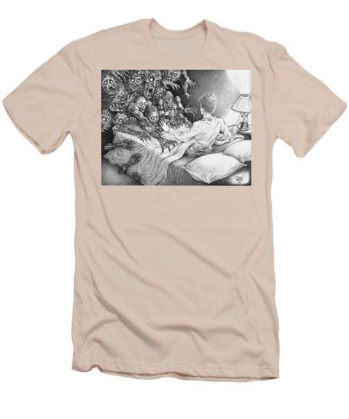 The Bedside Lamp Men's T-Shirt (Athletic Fit)
