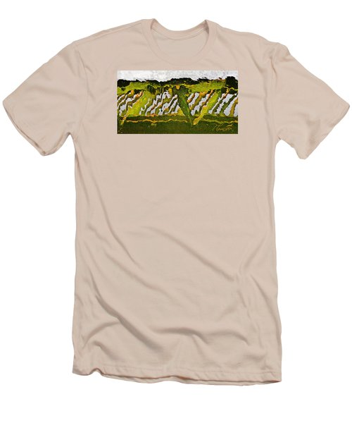 Men's T-Shirt (Slim Fit) featuring the photograph The Bridge - Me To You by Tom Cameron