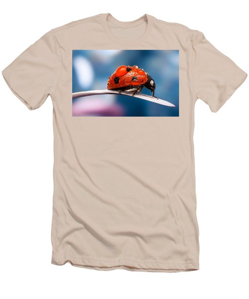 The Bug Men's T-Shirt (Slim Fit) by Thomas M Pikolin