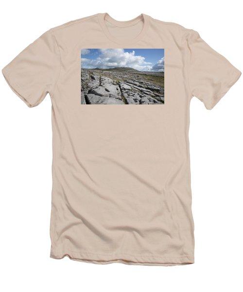 The Burren National Park Men's T-Shirt (Athletic Fit)